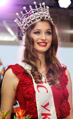 Miss Ukraine 2013   KIEV, Ukraine - Anna Zayakovskaya  was crowned Miss Ukraine 2013