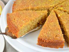 Orangen-Mandel-Kuchen mit Orangensirup