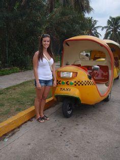 Coco Taxi. Varadero, Cuba