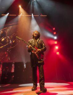 Tony Iommi and Black Sabbath playing NEC LG Arena Birmingham UK, 20 December 2013! (Photo by Birmingham Mail)