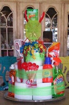 cupcake gift basket gift diy ideas pinterest cadeau id es cadeaux et panier. Black Bedroom Furniture Sets. Home Design Ideas