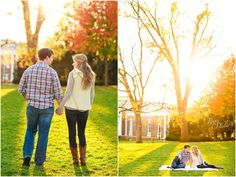 Varian + Austin // Charlottesville, VA Engagement Photography