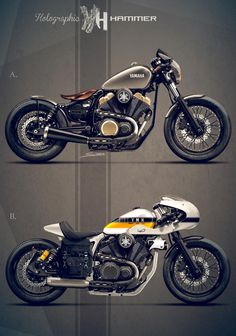 Yamaha XV950 by Holographic Hammer
