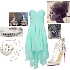 I love this dress ♡ High Low, Cinderella, Prom Dresses, Womens Fashion, Polyvore, Inspiration, Image, Inspired, Biblical Inspiration