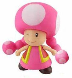 """Super Mario Brother PVC 4"""" Figure Toadette by Banpresto. $9.99"""