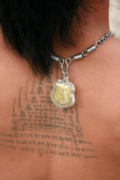 A kind of Magic, the mystical powers of Thai sak yant tattoos - CaptainsVoyage™ Forums