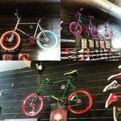 #mixiebike @yellowratbastardnyc @yrbmagazine #hiphop #hipster #alphaasfuck #bike #bmx #broadway #crisscross #fgfs #fixie #fashion #fashionista #fixedgear #pride #masterpiece #colorful #cool #follow #leader