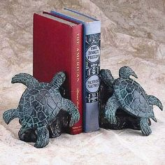 Sea Turtle Bookends