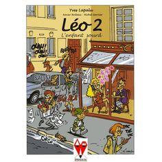 Léo 2, l'enfant sourd / Yves Lapalu    Dans cette suite la surdité est toujours le thème principal dans le but de mieux faire comprendre ce qu'être sourd veut dire.  Avant sa disparition en mars 2001, Yves avait eu le temps de finir les dessins du tome 2 de Léo. Cet album est un hommage à sa mémoire.