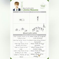 [ENG TRANS] Jimin's Resume (Part: 3/5)~ 2017 BTS FESTA Day 11! After Namjoons this is a breath of fresh air~ ❤ #BTS #방탄소년단
