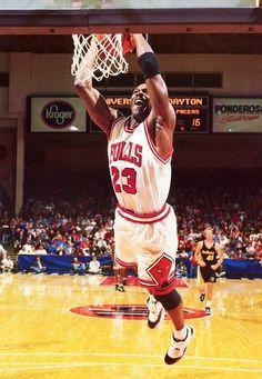 Michael Jordan - Chicago Bulls my favorite basketball player of the 90s