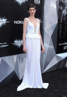 """Anne Hathaway at """"The Dark Knight Rises' Premiere in NYC"""