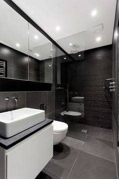 Ar design studio- the medic's house: bathroom by ar design studio Browse images of modern Bathroom designs: AR Design Studio- The Medic's House. Find the best photos for ideas & inspiration to create your perfect home. Best Bathroom Designs, Modern Bathroom Design, Bathroom Interior Design, Modern House Design, Bathroom Ideas, Bathroom Layout, Bathroom Cabinets, Bathroom Colours, Washroom Design