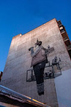 By Daniel Munoz SAN on the streets of Madrid, Spain.