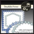 I have created several snowflake clip art frames for personal or commercial use. White and transparent backgrounds are included, and there are a fe...