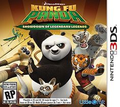 Kung Fu Panda Showdown of Legendary Legends  Nintendo 3DS ** More info could be found at the image url. Note:It is Affiliate Link to Amazon.