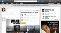 LinkedIn ya permite compartir contenido multimedia desde la Página de Inicio
