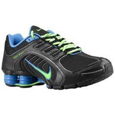 Nike Shox Navina SI - Women's - Grey/Atomic Red/Flash Lime