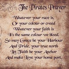 #pirate prayer