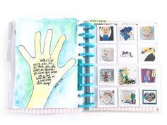 end of school year art in The Happy Planner™ of mambi Design Team member Jen Randall | me & my BIG ideas