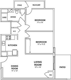 700 To 800 Sq Ft House Plans 700 Square Feet 2 Bedrooms