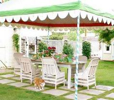 Picnic or party canopy