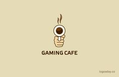 Gaming Cafe | Logo a Day