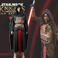 Star Wars: Knight...  http://omnidragondevelopment.com/products/star-wars-knights-of-the-old-republic-darth-revan-cosplay-costume-halloween-uniform-dress-hood-cloak-belt-gloves?utm_campaign=social_autopilot&utm_source=pin&utm_medium=pin