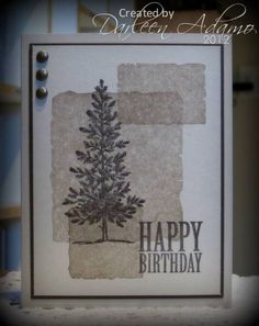 CAS153~Happy Birthday, Dennis! by darleenstamps - Cards and Paper Crafts at Splitcoaststampers