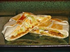 Yummy Crunchwrap Supremes ~ The great thing about these crunchwraps is that you can completely customize them to your liking. If someone wants black olive slices in theirs, go ahead.