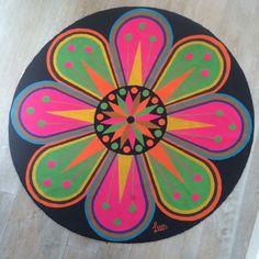 Luis Montiel Venezuelan Artist Vintage Op Art Tapestry Rug Circa 1960's