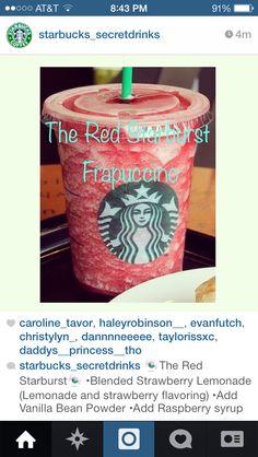 Secret Starbucks drink