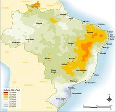 índice solarimétrico Brasil