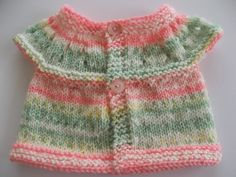 Hand Knit Pink/Green/White/Yellow Preemie/New by DelsYarnBasket, $14.50