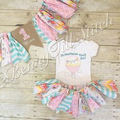 oh the places you'll go birthday outfit girl by BennyTillStitch