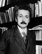 Einstein pre-crazy hair. (At the source, find out what Einstein had accomplished by age 29.)