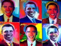 Obama by Peter Max