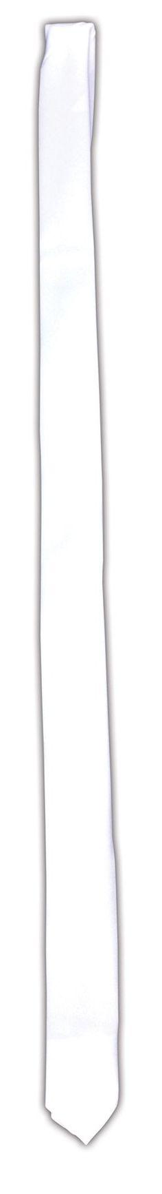 Tie Gangster Long White