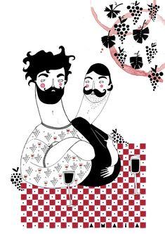 Ling Magazine 2011 - amaia arrazola illustration