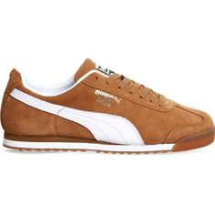 d9e57217baa PUMA Roma suede trainers ( 76) ❤ liked on Polyvore featuring shoes