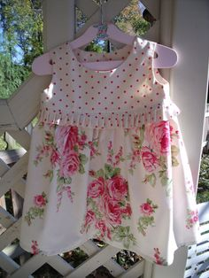 Pretty little girl's dress size. $25.00, via Etsy.