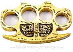 Constantine Brass Knuckles. I want a pair.