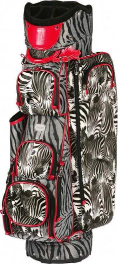 a new take on zebra - golf bag from cutler sport  Ladiesgolf Golf Pictures 8b18c2af8