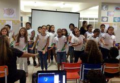 Blog do Inayá: Canto Coral encanta as famílias dos alunos do Inayá