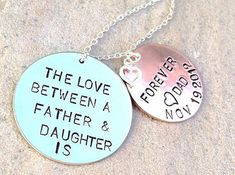 The Love Between A Father and Daughter is Forever by natashaaloha, $44.00