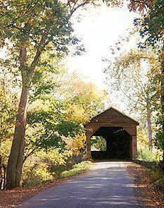 Historic Meems Bottom Covered Bridge