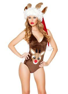 Rudolph Reindeer Romper - Christmas Costumes