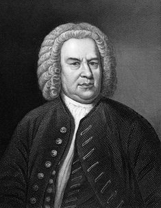 Johann Sebastian Bach (1685-1750, engraving from 1857) stands at the peak of the Baroque Era, and his music has had a profound influence on later composers. Although he composed a wide variety of works for many instruments, voices and combinations, his keyboard music (for Organ, Harpsichord and Clavichord) provides endless fascination for music lovers and students.