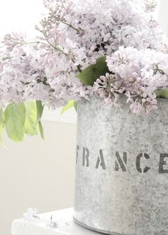 two of my loves...france and lilacs
