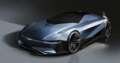 Car Design Sketch, Car Sketch, Automobile, New Luxury Cars, Futuristic Cars, Futuristic Vehicles, Automotive Design, Auto Design, Transportation Design